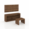 Picture of Living Set - 3 Piece - 114.2 x 136 x 39 cm - Walnut - CJ1400.0005