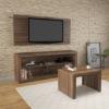 Picture of Living Set - 3 Piece - 114.2 x 136 x 39 cm - Walnut - CJ1400.0005