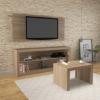 Picture of Living Set - 3 Piece - 114.2 x 136 x 39 cm - Almond - CJ1400.0004