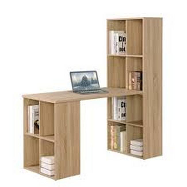 Picture of Office Desk - Michigan - 153.5 x 60 x 147.6 cm - Sonoma Oak - CST 1250