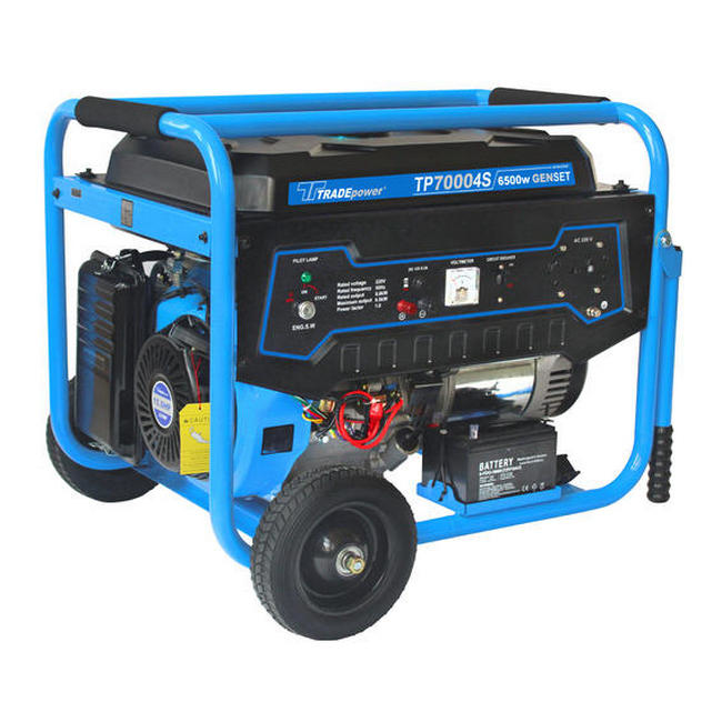 Picture of Generator - Petrol - TP 7000 - 4 Stroke - 6.5kW - 15HP - 8.1kVA - MCOG707EW