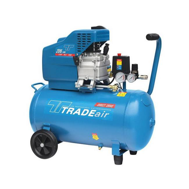 Picture of Compressor - Belt Drive - Lubricated - 50L - 1.5kW - 2.0HP - MCFRC102A