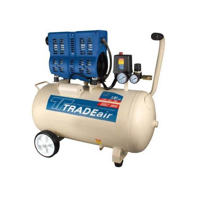 Picture of Compressor - Silent - Oil Free - 50L - 750w - 1HP - MCFRC242