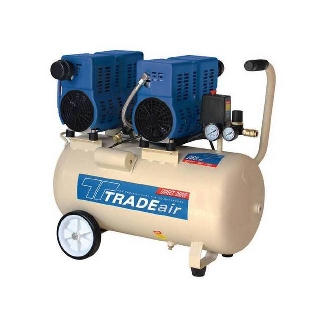 Picture of Compressor - Silent - Oil Free - 50L - 1.5kW - 2HP - MCFRC243