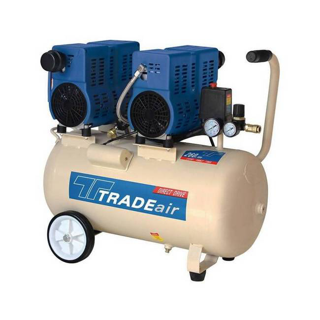 Picture of Compressor - Silent - Oil Free - 100L - 1.5kW - 2HP - MCFRC244