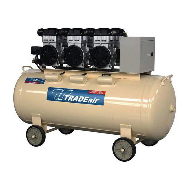 Picture of Compressor - Silent - Oil Free - 200L - 3.3kW - 4.4HP - MCFRC248