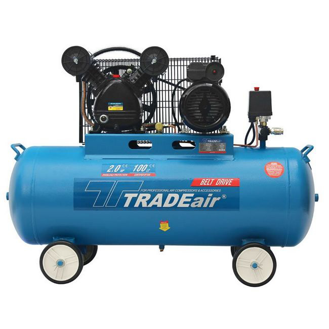 Picture of Compressor - Lubricated - Cast Iron - V Head -100L - 1.5kW - 2.0HP - MCFRC221