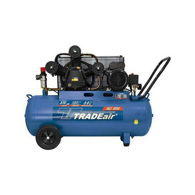 Picture of Compressor - Lubricated - Cast Iron - V Head - 150L - 2.2kW - 3HP - MCFRC228