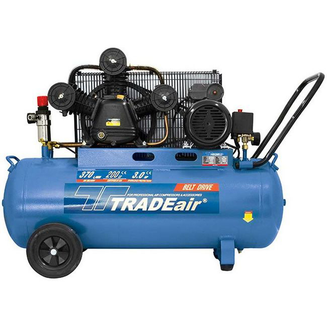 Picture of Compressor - Lubricated -Cast Iron - W Head - 200L - 2.2kW - 3HP - MCFRC229