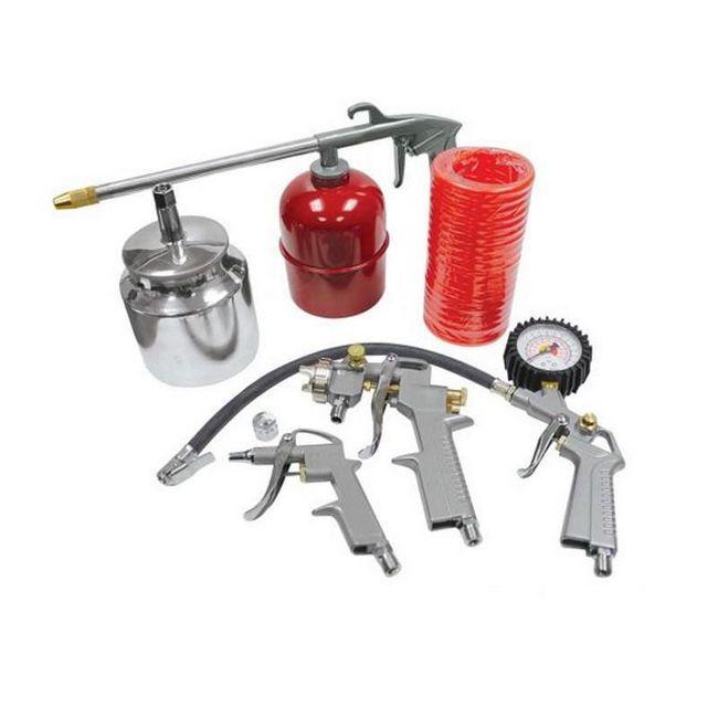 Picture of Spray Gun Kit - 5 Piece - Pneumatic - TOOS1786