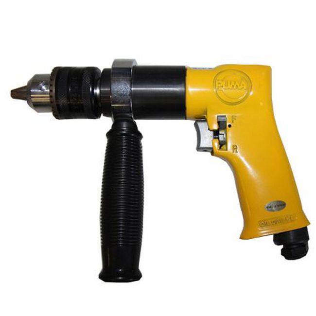 Picture of Air Drill with Chuck - Professional - 13mm - Pneumatic - PUAT4041