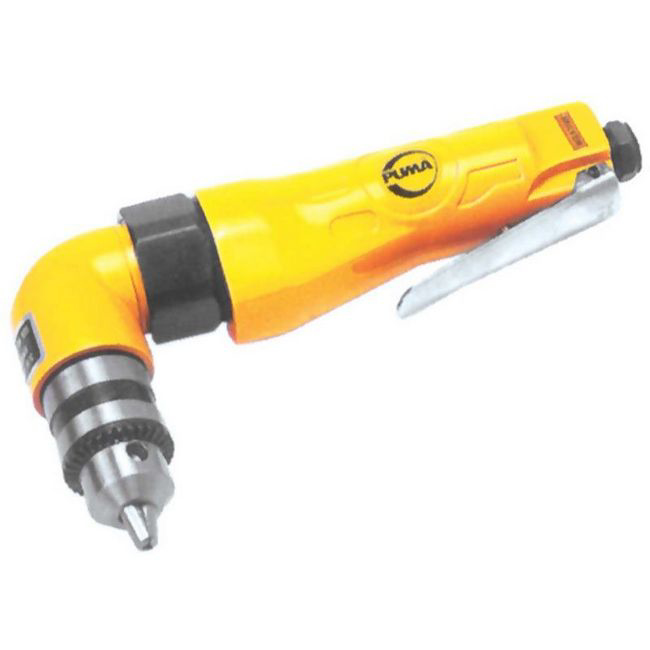 Picture of Angle Air Drill with Chuck - Professional - 10mm - Pneumatic - PUAT4035