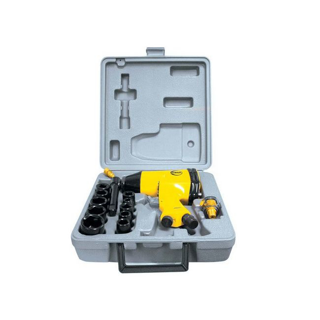 Picture of Impact Wrench Kit - Drive - Professional - 12.5mm - Pneumatic - 17 Piece - PUAT5004
