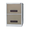 Picture of Steel Office Filing Cabinet - 2 Drawer File - Knock Down (Requires Assembly) - 71 x 47 x 63 cm - 2FC01KD-ivorykaroo