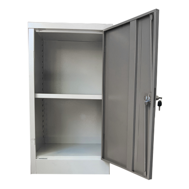 Picture of Stationery Cupboard - Space Saver - 1 Shelf - 90 x 48 x 45 cm - SC006-grey