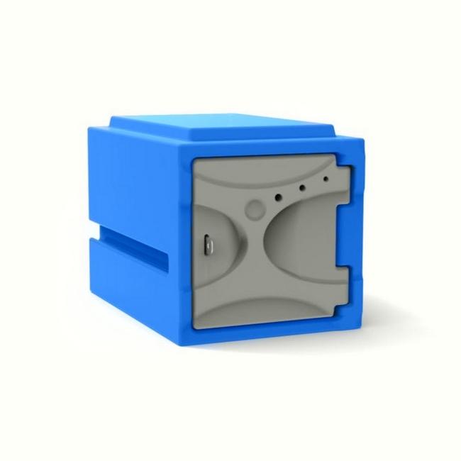 Picture of Plastic Food Locker - Solid Door - 45.5 x 31 x 32 cm - PA415A