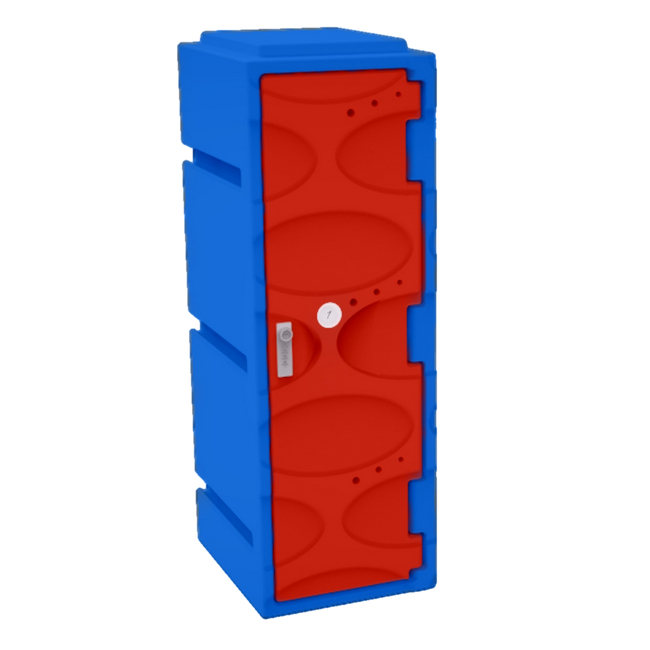 Picture of Plastic Clothes Locker - Solid Door - 45.5 x 31 x 92 cm - PA416A