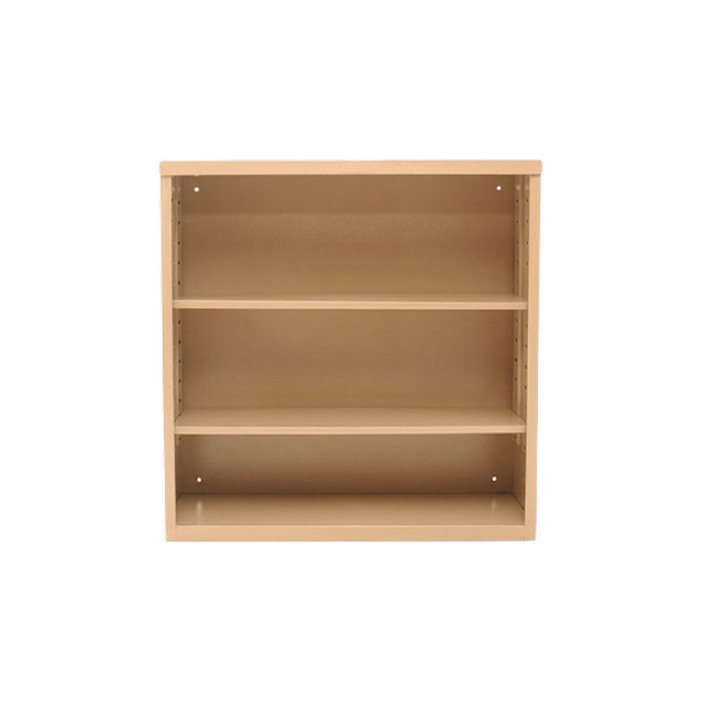 Picture of Bookcase - Steel - 2 Shelves - 90 x 90 x 30cm - Ivory Karoo - OF37