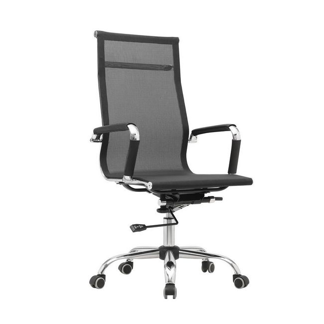 Picture of Office Chair - High Back - Sleek - 116 x 63.5 x 67 cm - Mesh - Black - BS-1507A-1