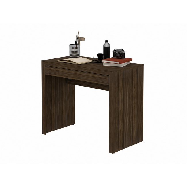 Picture of Office Desk - Drawer - 74.5 x 46.5 x 90 cm - Walnut - ME4107.0007