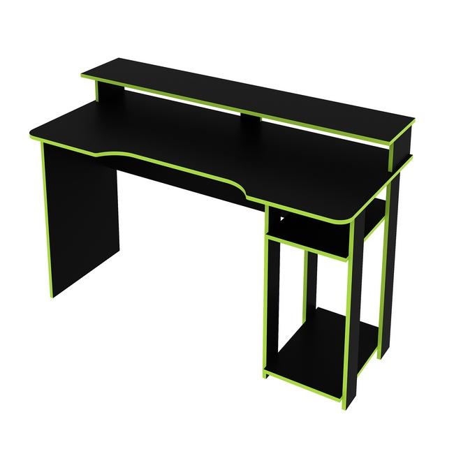 Material: particle board polyurethane (pu) lamination, gaming desk, pc gaming desks, gaming computer.