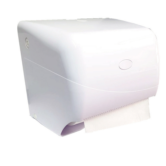 Picture of Hand Towel Dispenser -Free Flow - Manual - Pearl - White - HD_73