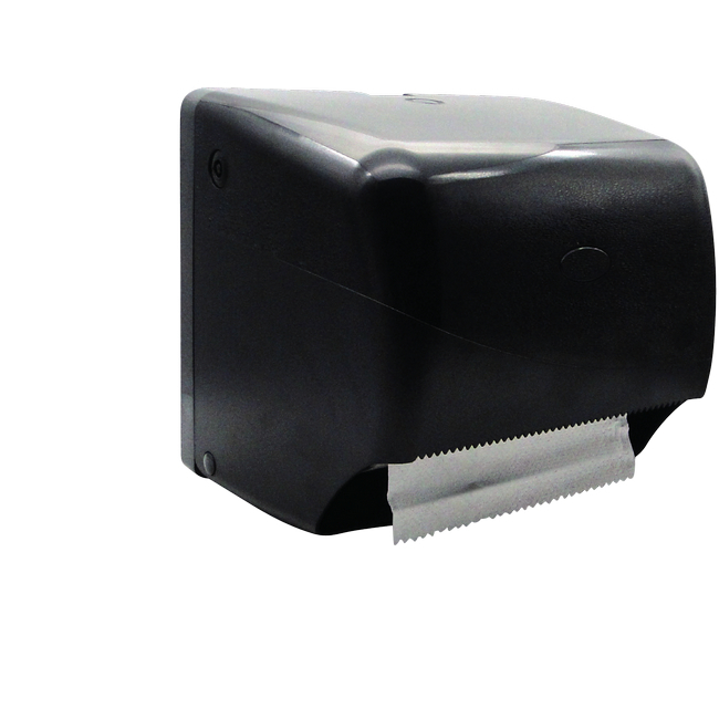 Picture of Hand Towel Dispenser -Free Flow - Manual - Pearl - Black - HD_73BL