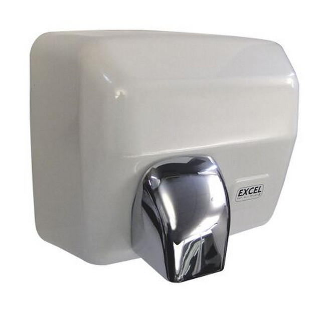 Picture of Hand Dryer - Electric - Automatic - Excel - 2.5kW - White - HD_02