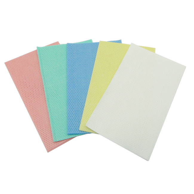 Picture of Non Woven Wipes - HACCP - (5 Packs of 50) - Yellow - WR_16