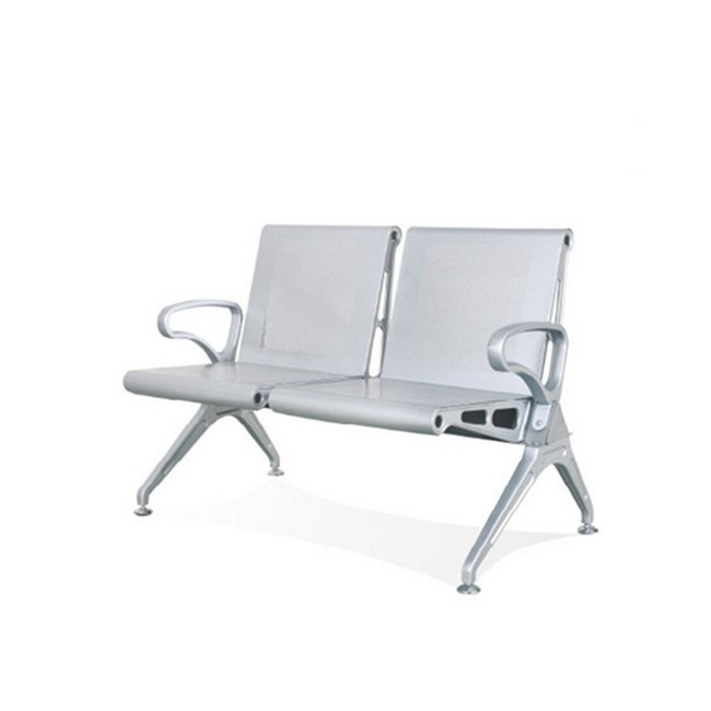 Picture of Airport Bench - Indoor Waiting Room Seat - Mild Steel - Heavy Duty - Two Seater - Flat Pack - 127 x 67 x 82 cm - PD02