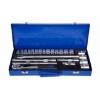 "Picture of Ratchet and Socket Kit - 1/2"" Drive - Metal Box - Chrome Vanadium - 24 Piece - FMT-033"