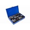 "Picture of Ratchet and Socket Set - 1/4"" Drive - Metal Box - Chrome Vanadium - 28 Piece - FMT-034"