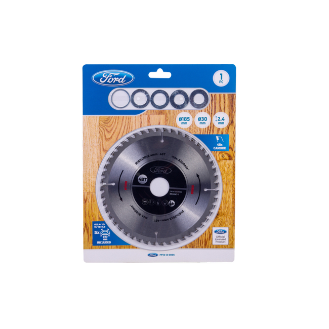 Picture of Circular Saw Blade - 185 mm x 1.4mm - 48 Teeth - FPTA-1090