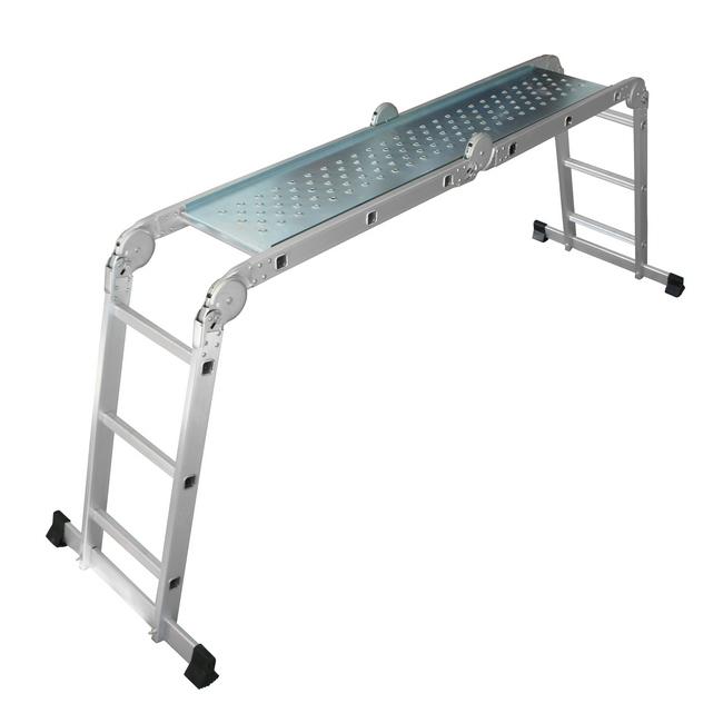 Includes electroplated platform, safe working load - 135kg, ladder, aluminium ladder, step ladder, a.
