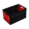 Material: polypropylene, source: recycled, crate, plastic bin, plastic box, plastic storage box.