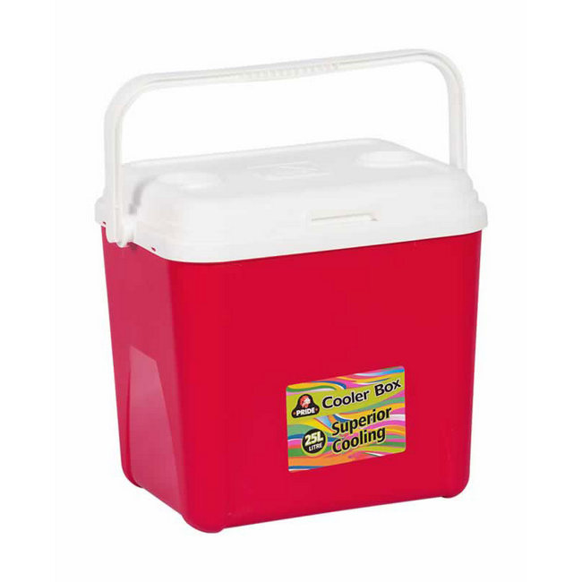 Picture of Cooler Box - Plastic Pride - 25L - Colour Options - Pack of 4 - DR-CB25