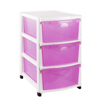 Picture of Drawer Unit - Plastic - 3 Drawers - Colour Options - DW-0003