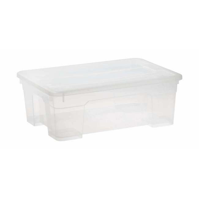 Picture of Storage Box - Plastic - 11L - Colour Options - Pack of 10 - SB-0011