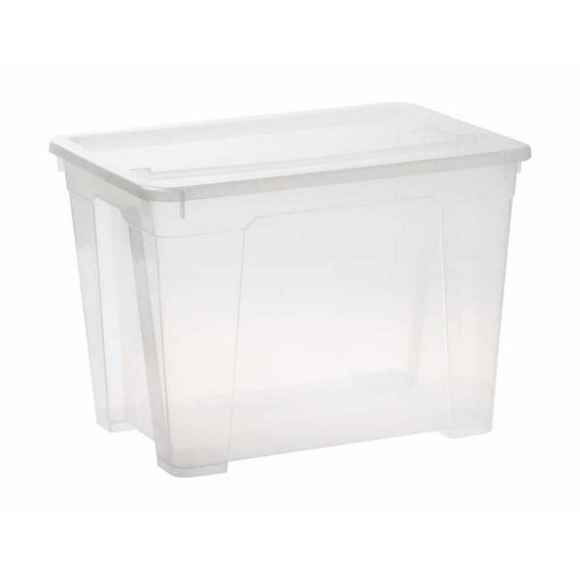 Picture of Storage Box - Plastic - 21L - Colour Options - Pack of 5 - SB-0021