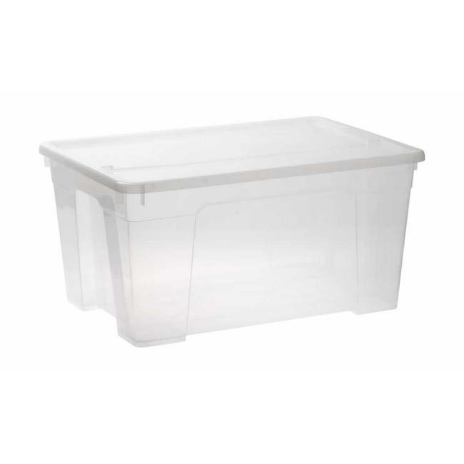 Picture of Storage Box - Plastic - 45L - Colour Options - Pack of 5 - SB-0045
