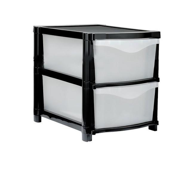 Material: polypropylene, source: recycled frame & virgin drawers, plastic drawer, plastic storage dr.